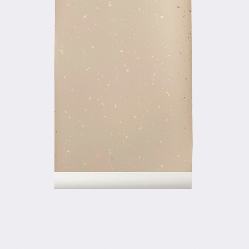 ferm LIVING Confetti Wallpaper-Rose