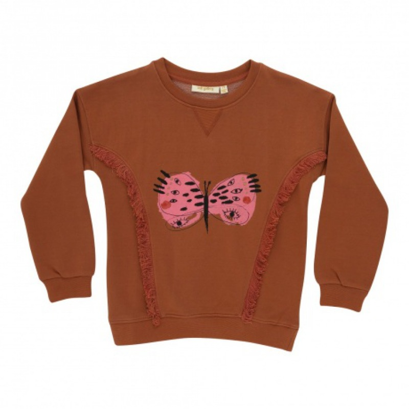 Soft Gallery Babs Sweatshirt, Eyefly / Baked Clay