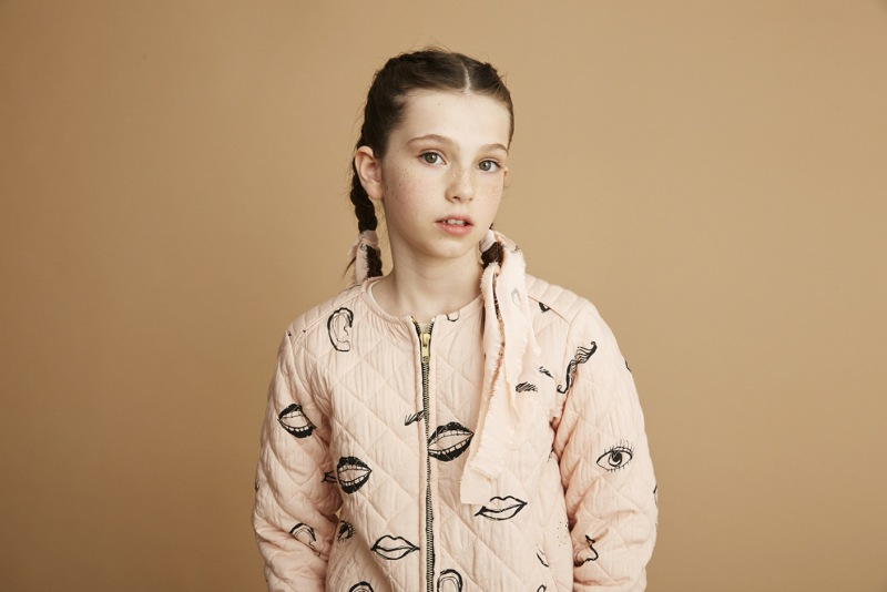 Soft Gallery Sabine Jacket, AOP Features / Rose Cloud