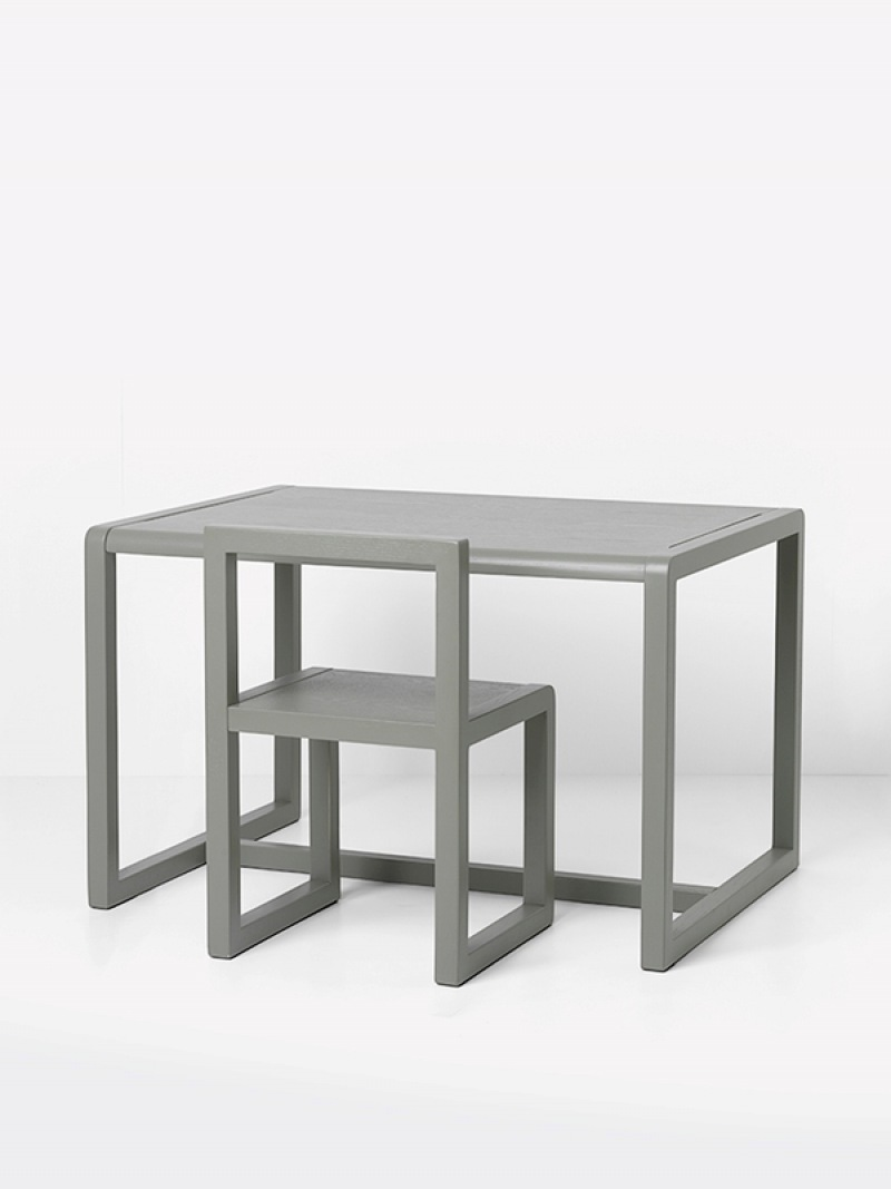 fermLIVING Little Architect Table - Grey