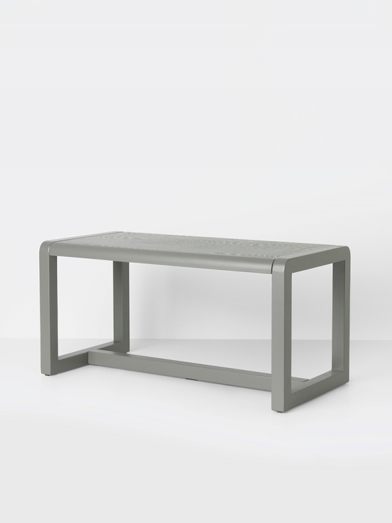 fermLIVING Little Architect Bench - Grey
