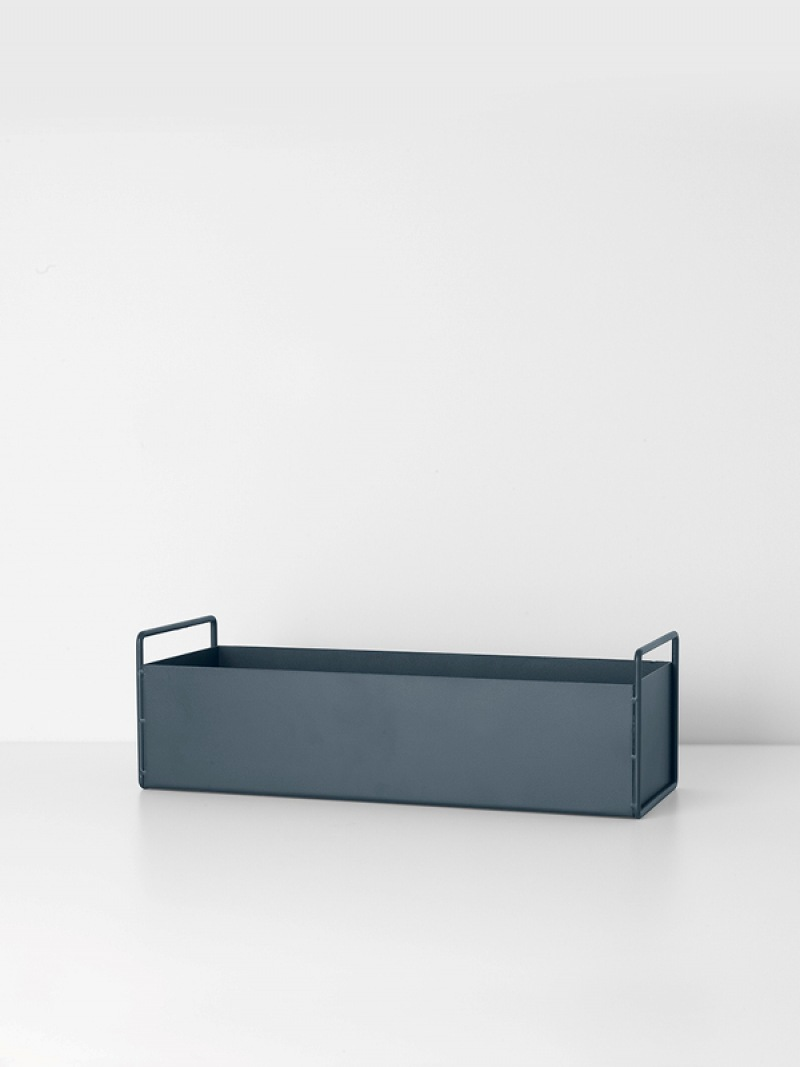 fermLIVING Plant Box - Dark Grey - Small