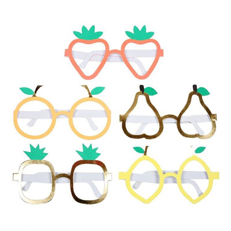 Meri Meri Fruit Glasses-5er Set