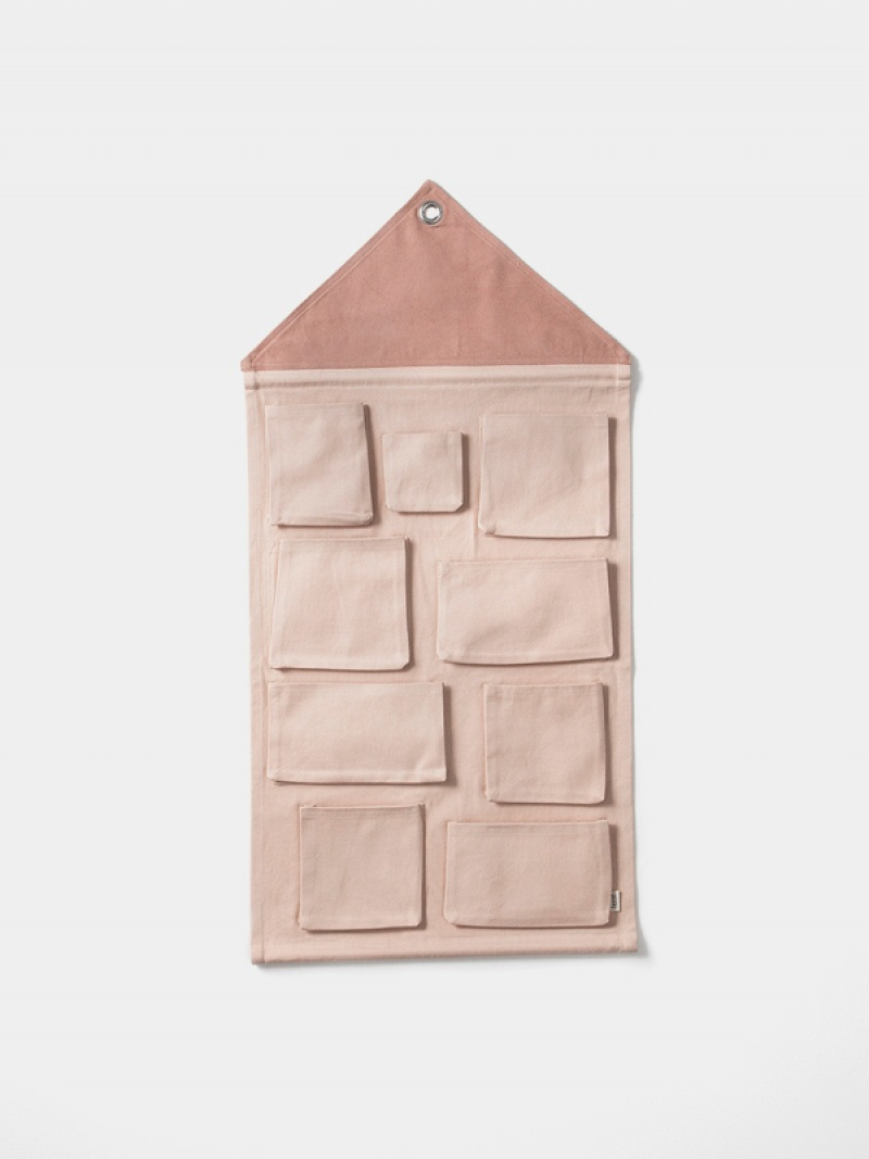 fermLIVING House Wall Storage - Rose
