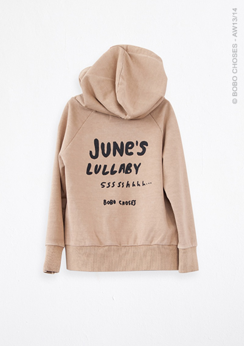 BOBO CHOSES Hooded Sweatshirt LULLABY
