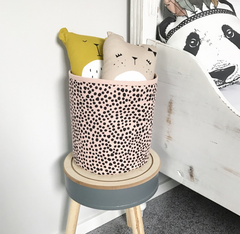 FABELAB Animal Cushion Lazy Bear