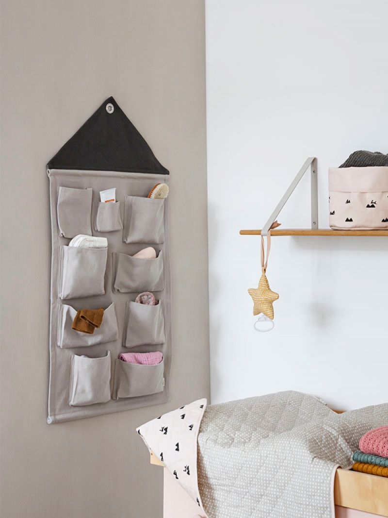 fermLIVING House Wall Storage - Grey