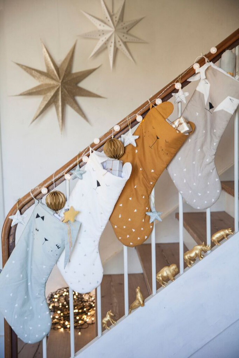FABELAB Animal Christmas Stocking - Fox