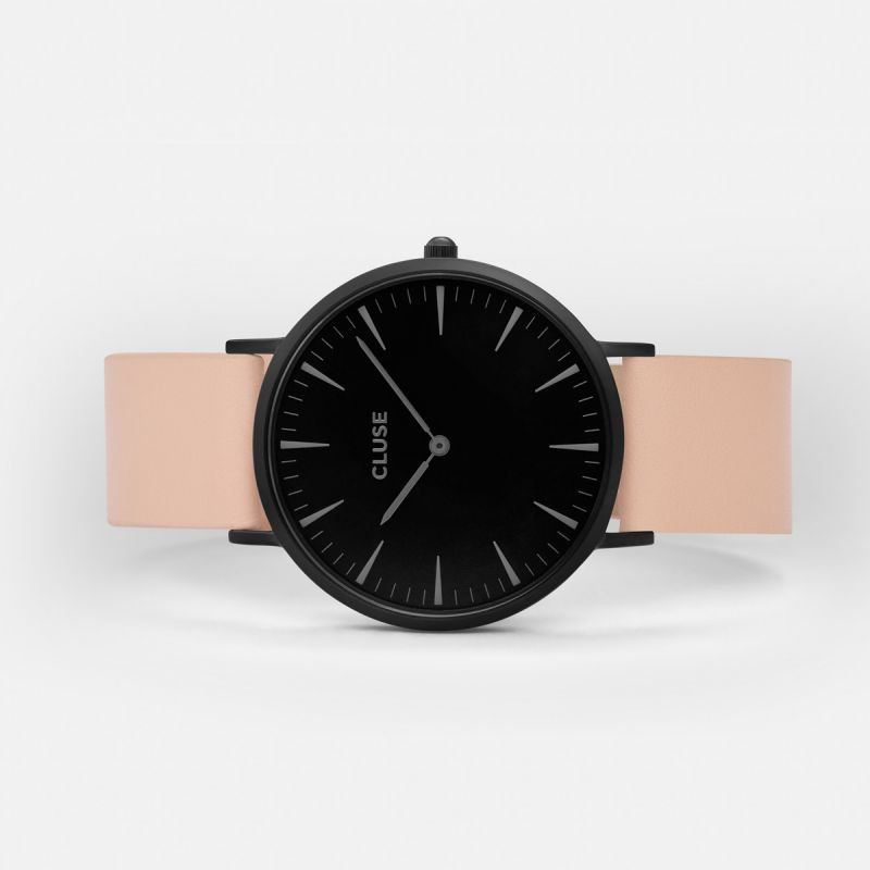 CLUSE watch La Bohème Full Black/Nude