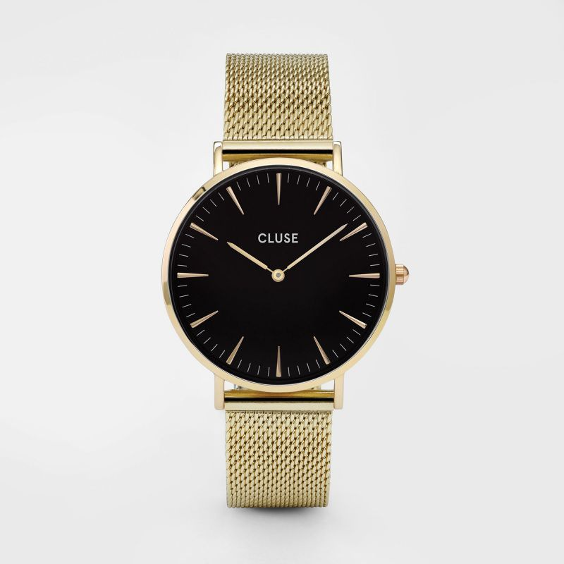 CLUSE watch La Bohème Mesh Gold/Black