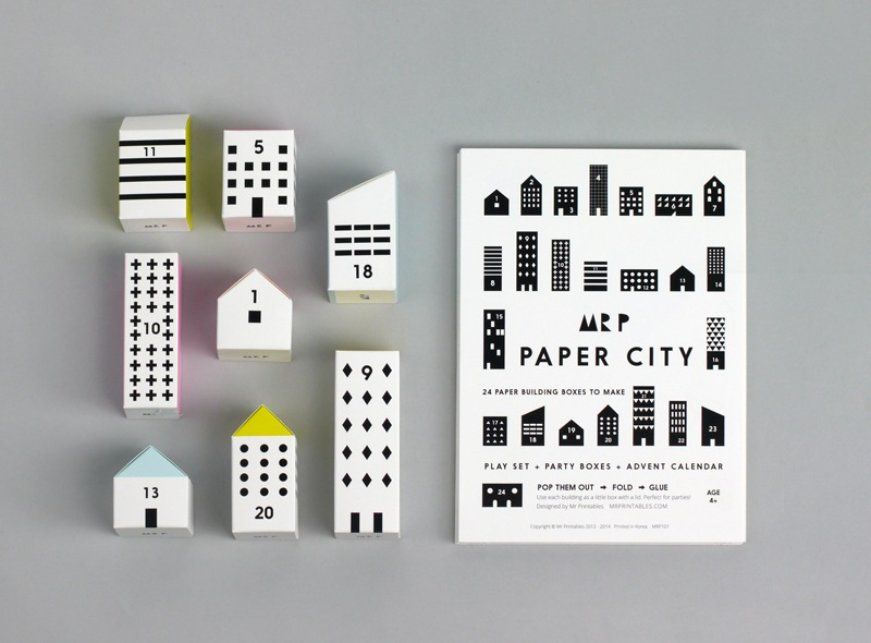 MOON PICNIC Adventskalender PAPER CITY