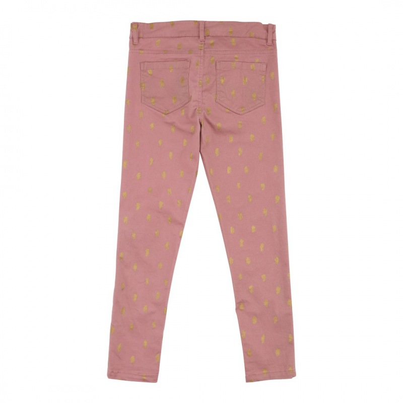 Soft Gallery Sally Pants, AOP Twill Scratch