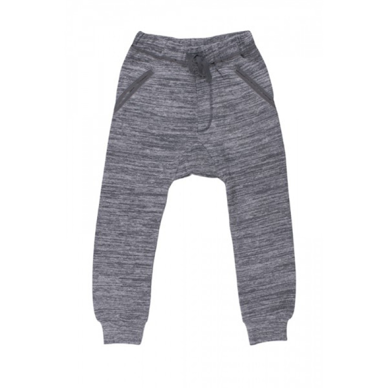 Soft Gallery HUBERT Dark Grey Melange Pants