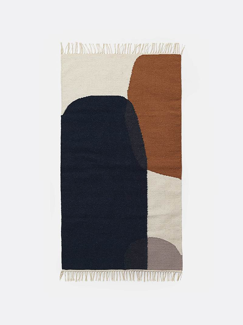 fermLIVING Kelim Rug - Merge - Small